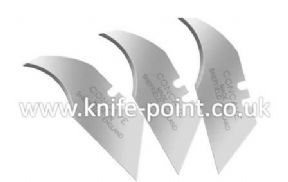 10000 X Heavy Duty Concave Blades 2 Notch Made In Sheffield